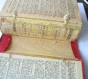 Old dictionnaire Allemand Francais books for sale