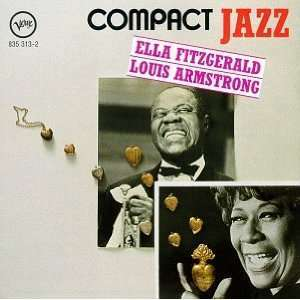LOUIS ARMSTRONG & ELLA FITZGERALD Audio CD's compact discs for sale at netogram.com