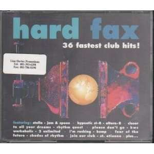 HARD FAX CLUB HITS 2CD promo Audio CD's compact discs for sale at netogram.com