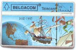 Discovery of America Telecard for sale