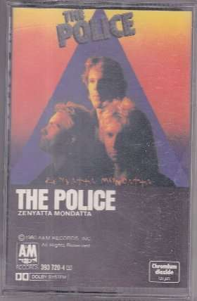 THE POLICE Audio tape (music cassette tape) collector's item at netogram.com