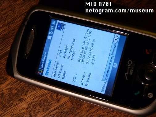 MIO A701 USB DRIVER