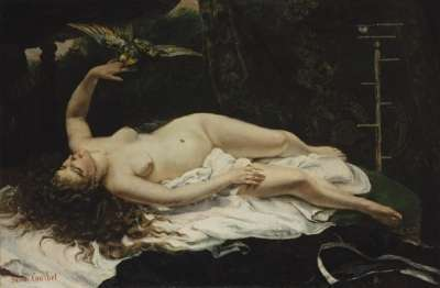 COURBET - Nudes in classical paintings